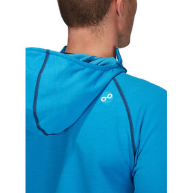 PYUA Exceed-Y S Active Hooded Zipper Men swedish blue melange